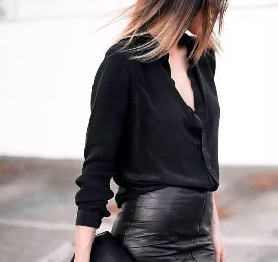 千万别再穿一身黑了,我是认真的! 穿衣推荐 第4张