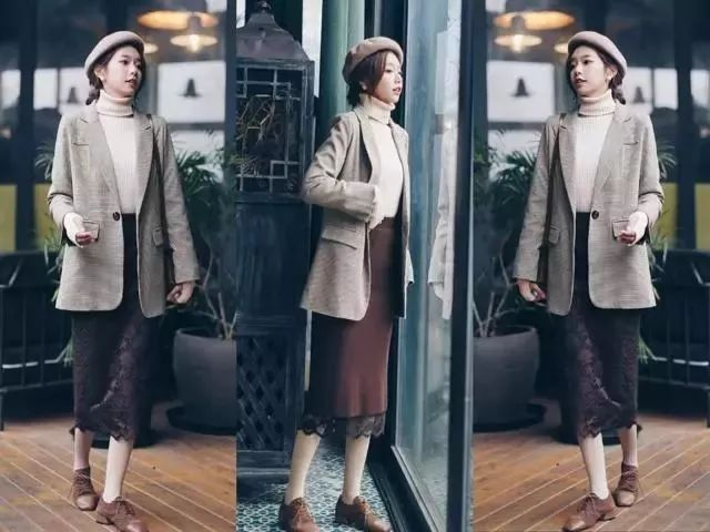 2019年开春的第一件外套,就选小西装外套!