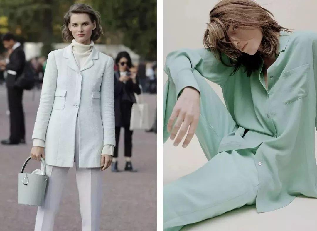 最难穿的绿色竟成2019春夏流行色?原来穿对了可以这么美! 穿衣推荐 第5张