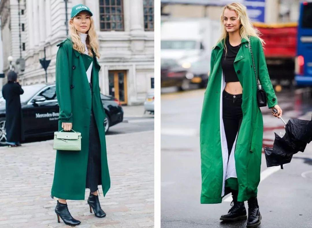 最难穿的绿色竟成2019春夏流行色?原来穿对了可以这么美! 穿衣推荐 第11张