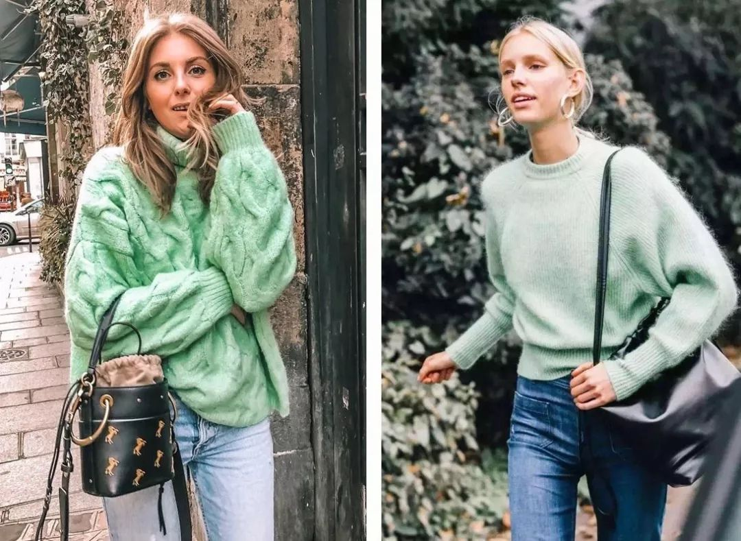 最难穿的绿色竟成2019春夏流行色?原来穿对了可以这么美! 穿衣推荐 第9张