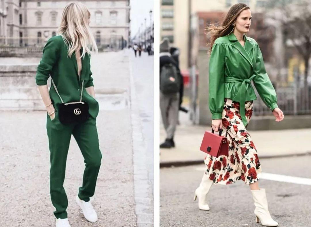 最难穿的绿色竟成2019春夏流行色?原来穿对了可以这么美! 穿衣推荐 第7张