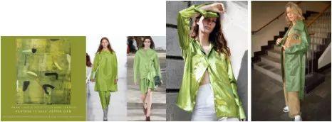 最难穿的绿色竟成2019春夏流行色?原来穿对了可以这么美! 穿衣推荐 第3张