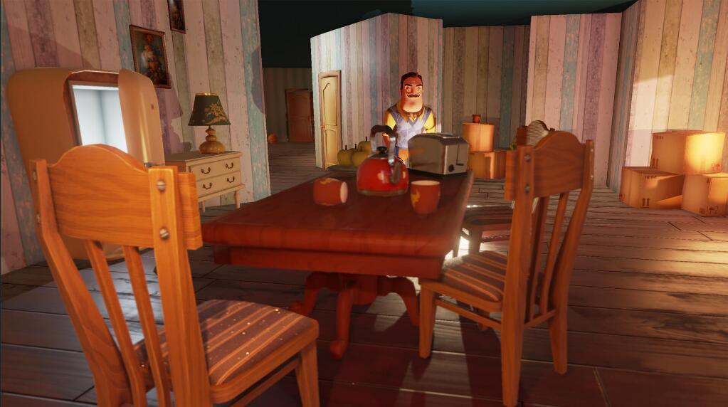 Epic商城限时免费购买《Hello Neighbor》游戏